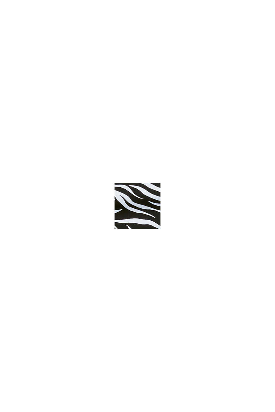 Återvunnet material: miditrosa med zebramönster, BLACK, swatch