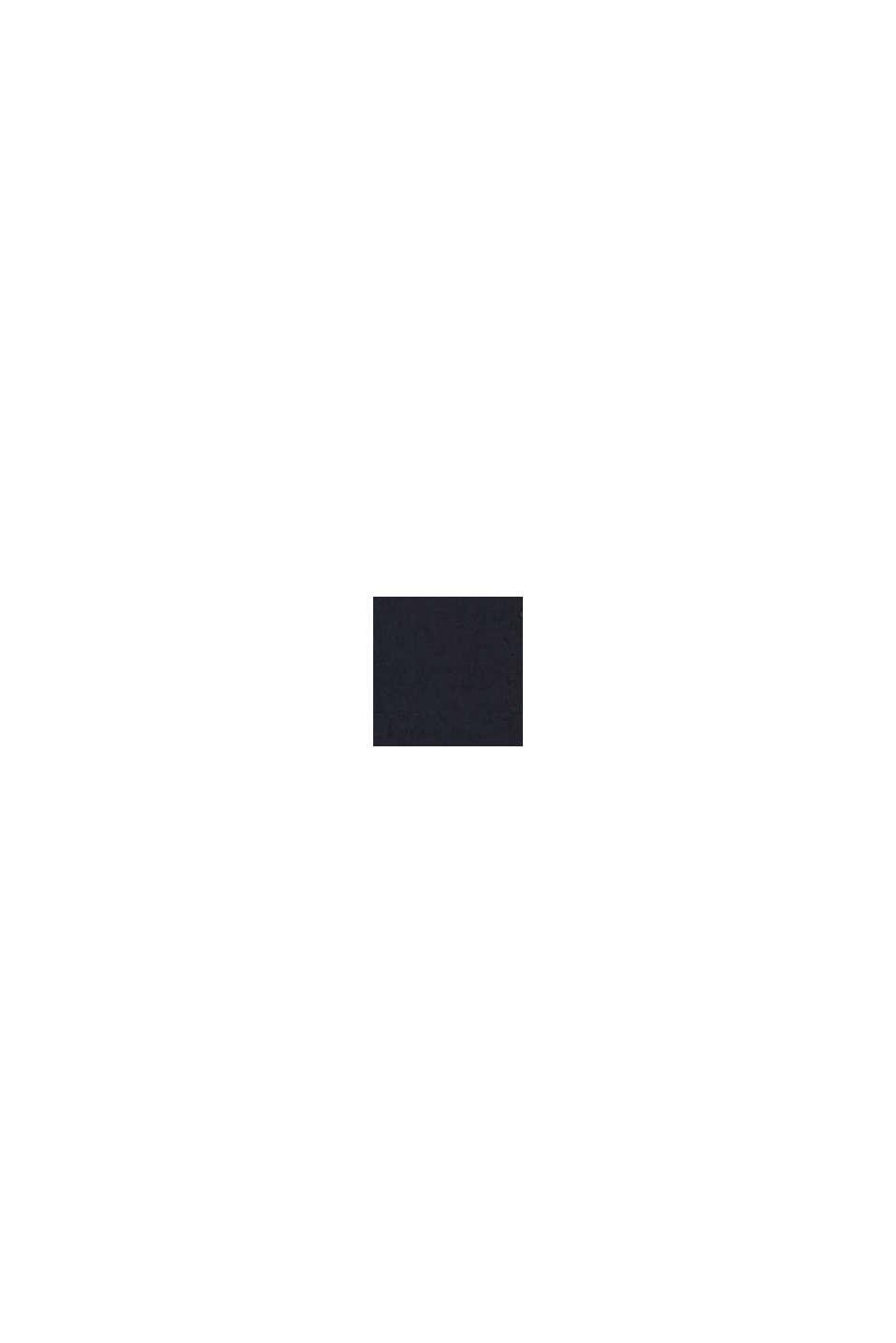 Gerecycled: slip met palmenprint, BLACK, swatch