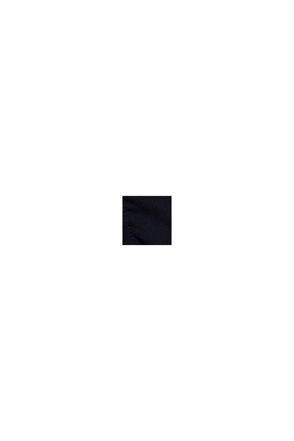 Reciclada: braguita con diseño de bloques de color, NAVY, swatch