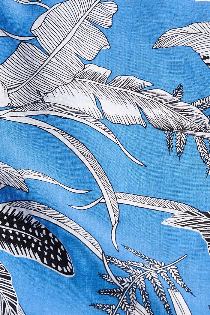 Robe de plage en fibres LENZING™ ECOVERO™, BLUE, detail image number 5