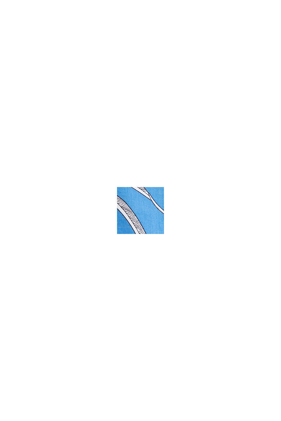 Strandkleid aus LENZING™ ECOVERO™, BLUE, swatch