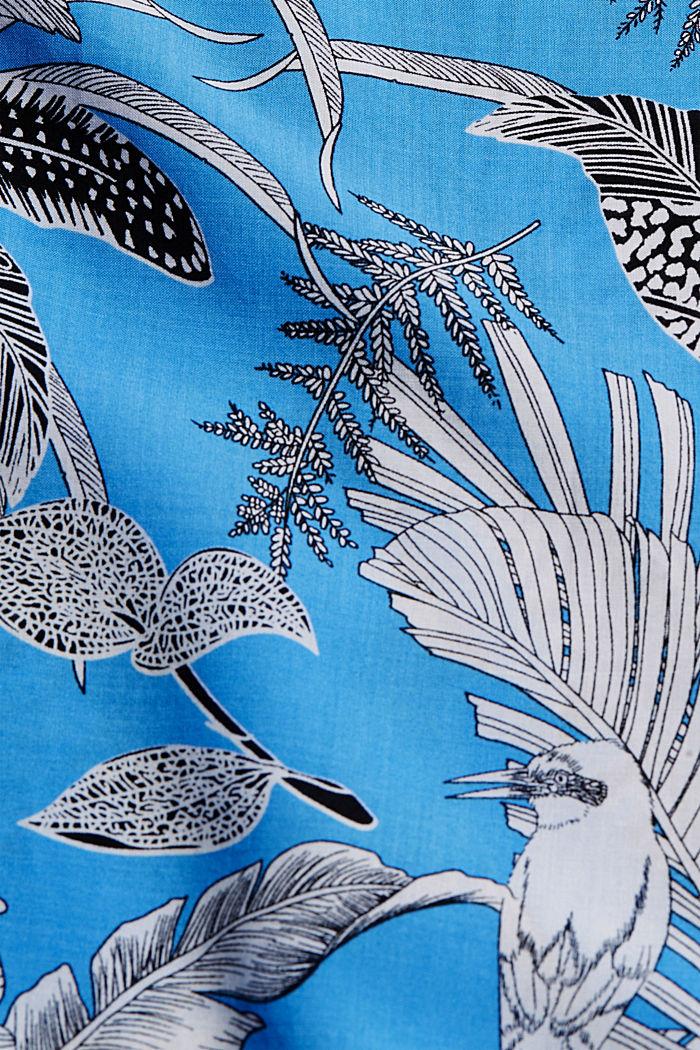 Bandeau-Kleid aus LENZING™ ECOVERO™, BLUE, detail image number 5