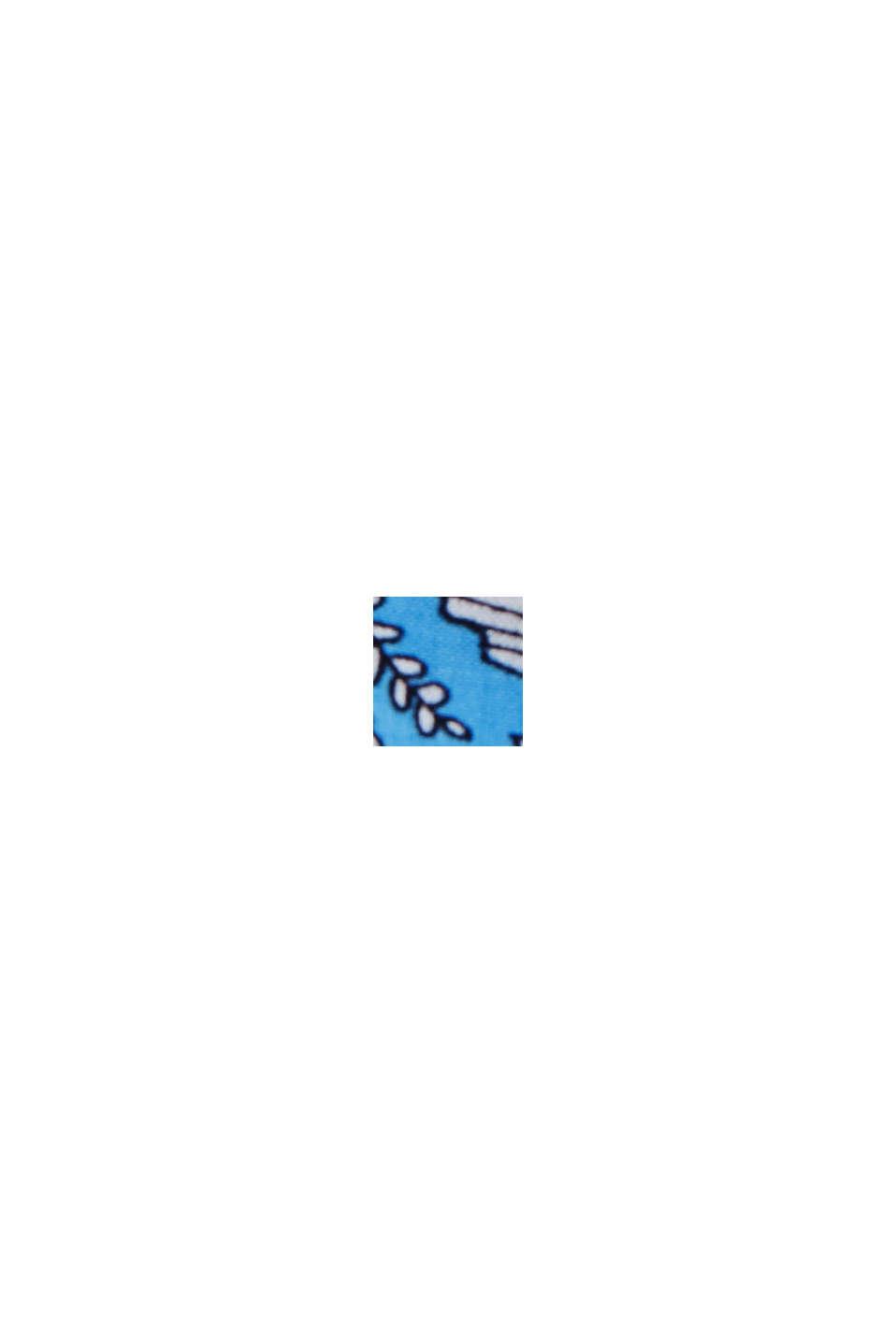 Bandeau-Kleid aus LENZING™ ECOVERO™, BLUE, swatch