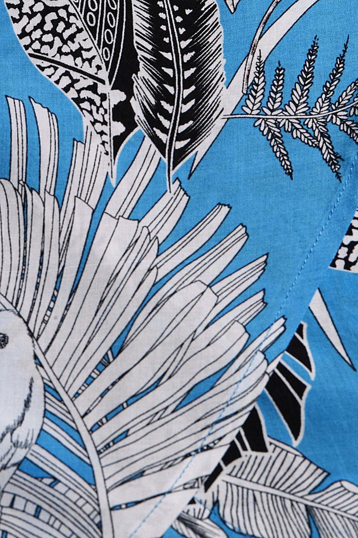 Midi-Strandkleid aus LENZING™ ECOVERO™, BLUE, detail image number 5