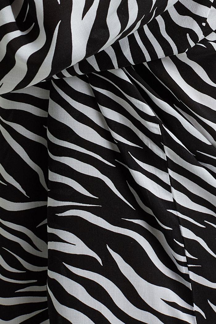 Tunika aus LENZING™ ECOVERO™, BLACK, detail image number 5