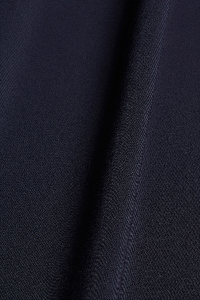 Vestido camisero en LENZING™ ECOVERO™, NAVY, detail image number 5