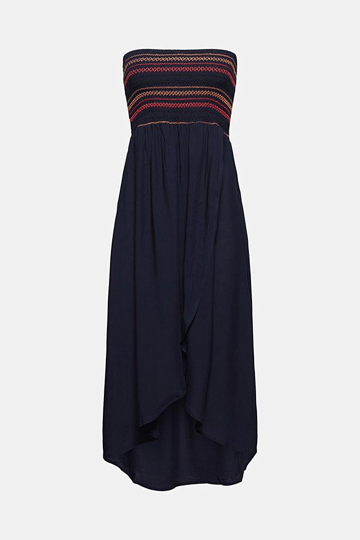 Vestido sin tirantes en LENZING™ ECOVERO™