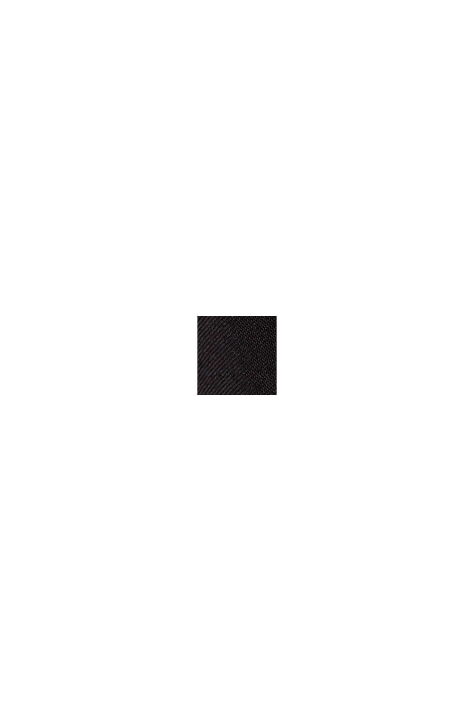 Strandkjole af LENZING™ ECOVERO™-viskose, BLACK, swatch
