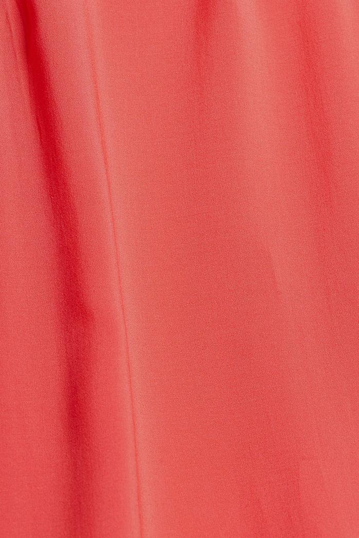 Robe de plage en viscose LENZING™ ECOVERO™, CORAL, detail image number 5