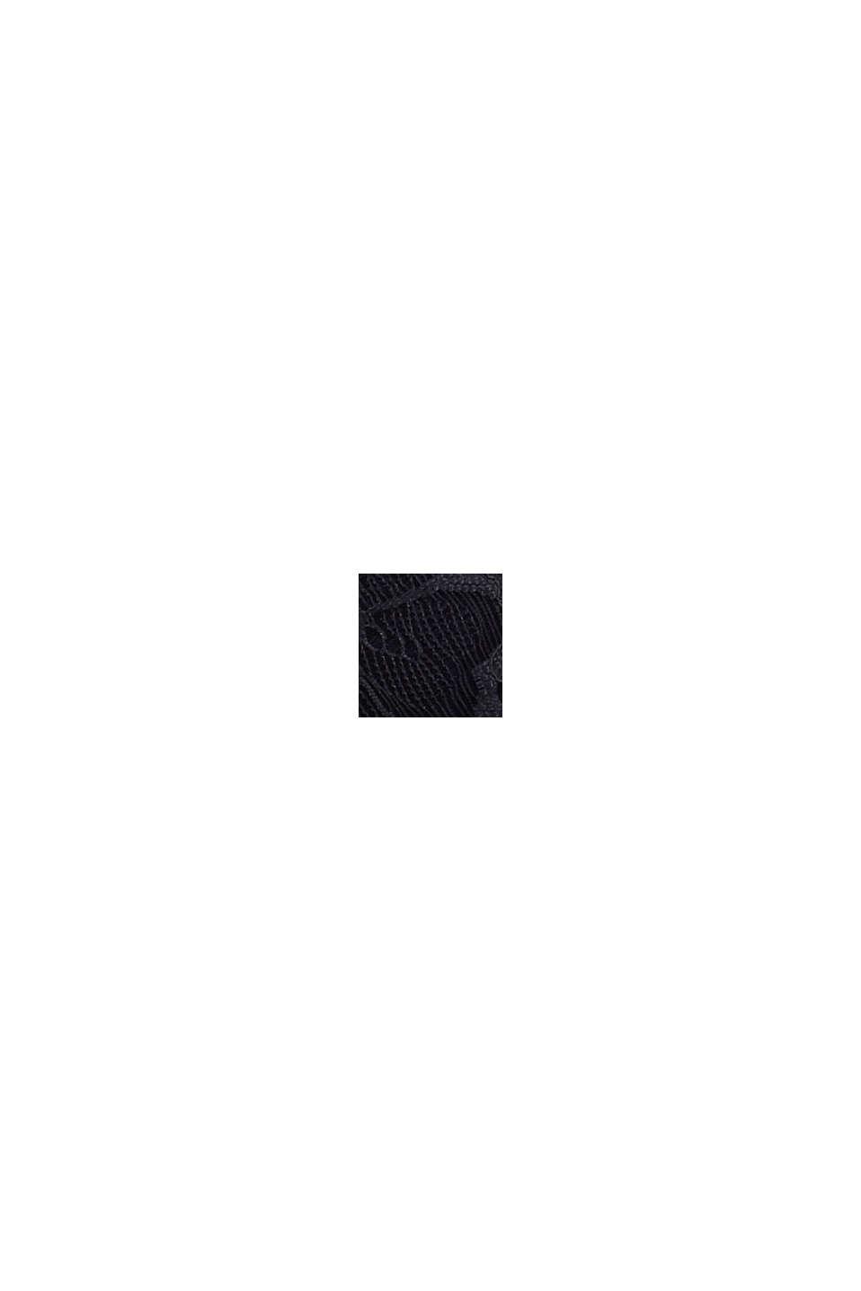 Af genanvendte materialer: vatteret bøjle-bh med blonder, NAVY, swatch