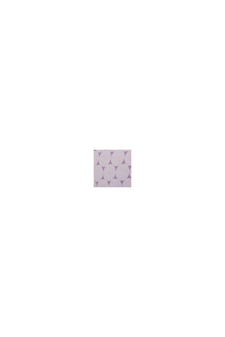 Recycelt: wattierter Bügel-BH mit Print, LAVENDER, swatch