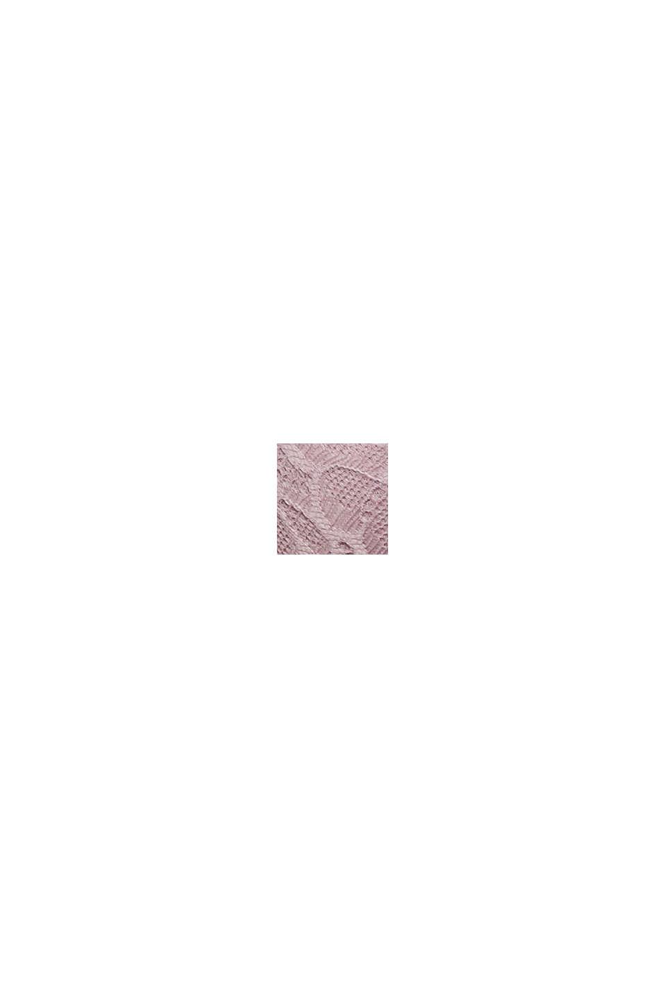 Af genanvendte materialer: vatteret bøjle-bh med blonder, LAVENDER, swatch