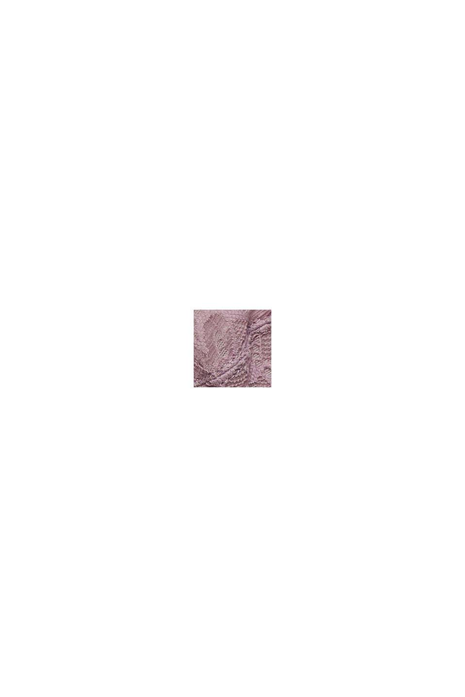 Genanvendte materialer: upolstret bøjle-bh med blonder, LAVENDER, swatch