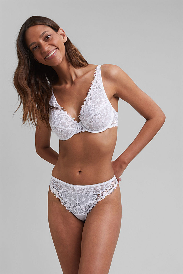 Recycled: Lace hipster thong