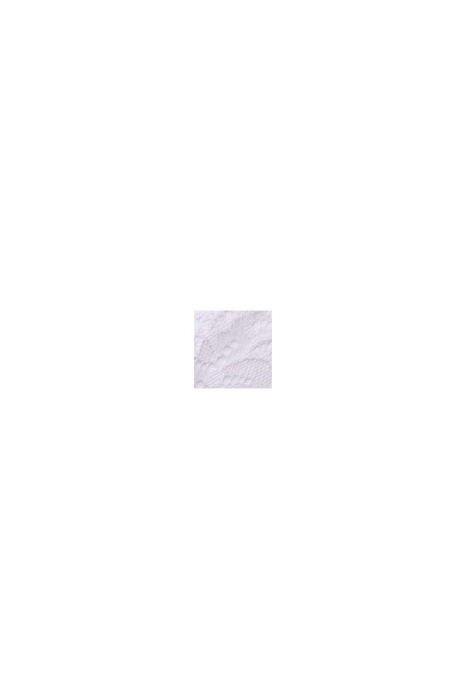 Recycelt: wattierter BH mit Spitze, WHITE, swatch