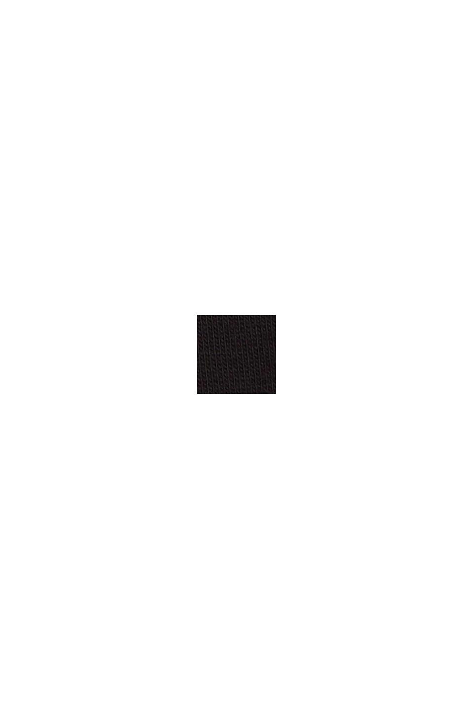 Jersey pyjamas in LENZING™ ECOVERO™, BLACK, swatch