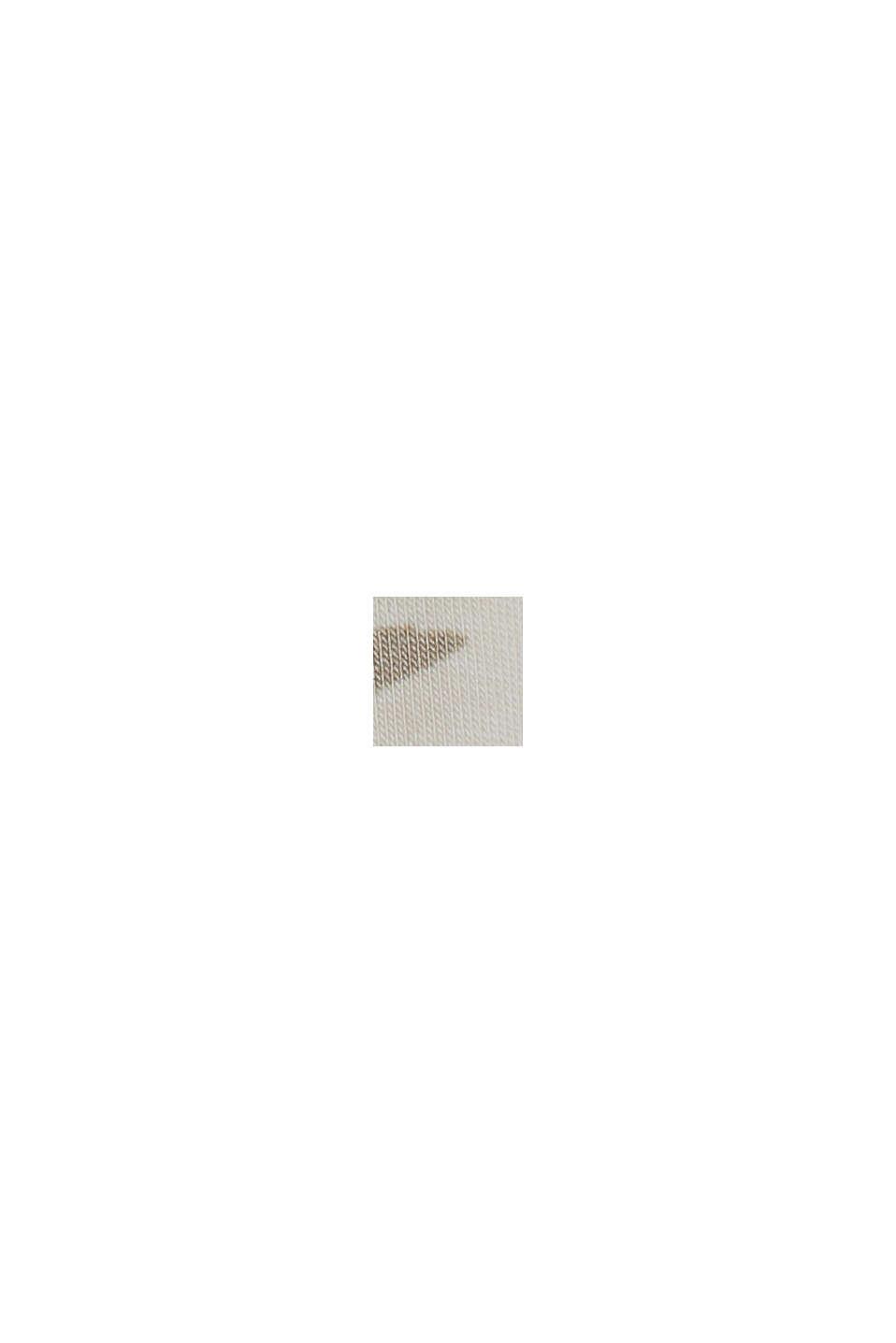 Jersey-Shorts aus LENZING™ ECOVERO™, OFF WHITE, swatch