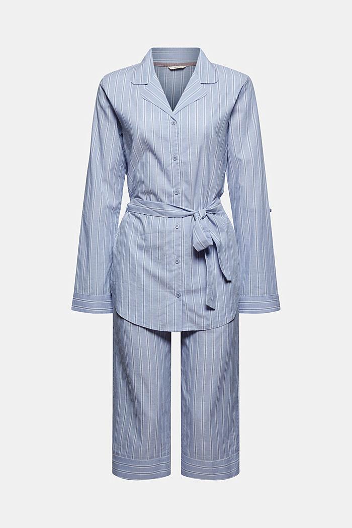 Pyjama à rayures, 100% coton biologique