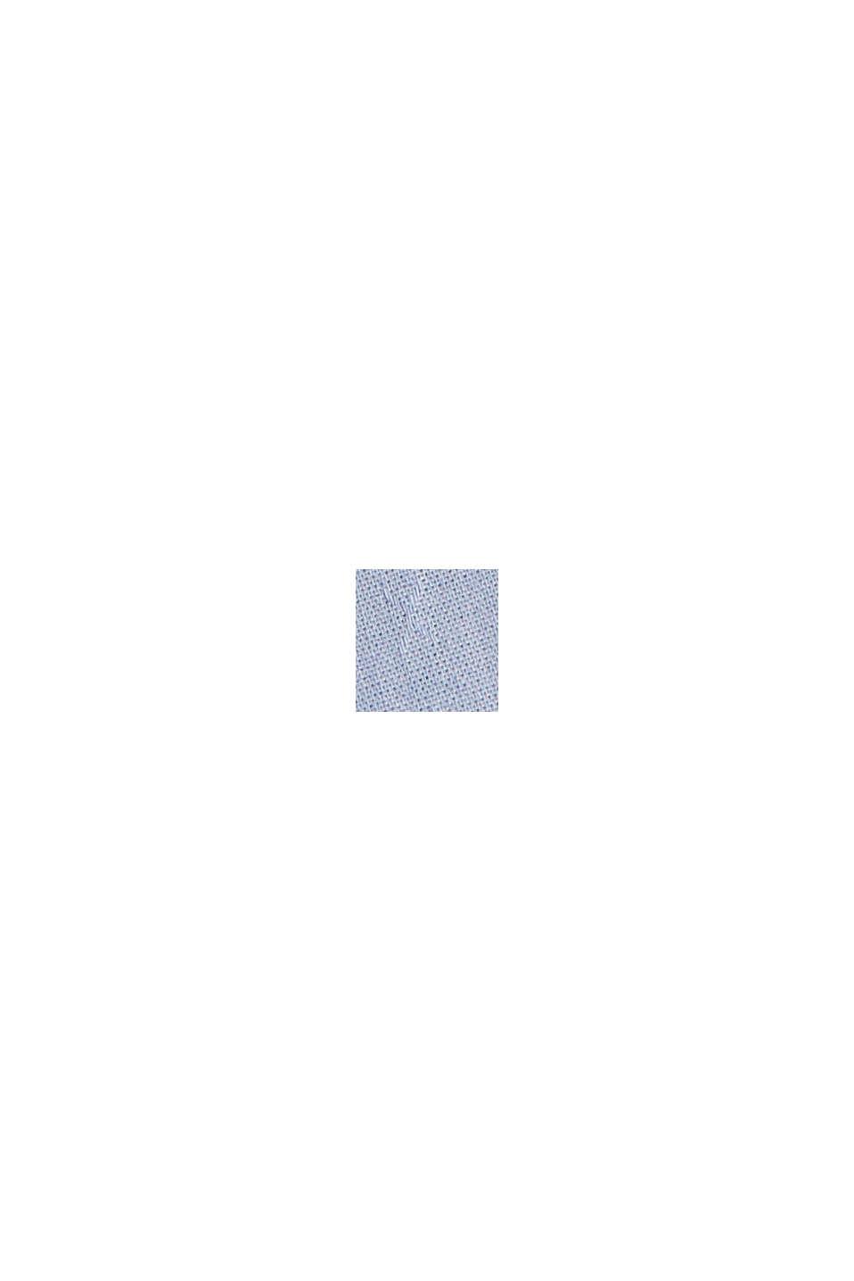 Pyjama mit Streifen, 100% Organic Cotton, PASTEL BLUE, swatch