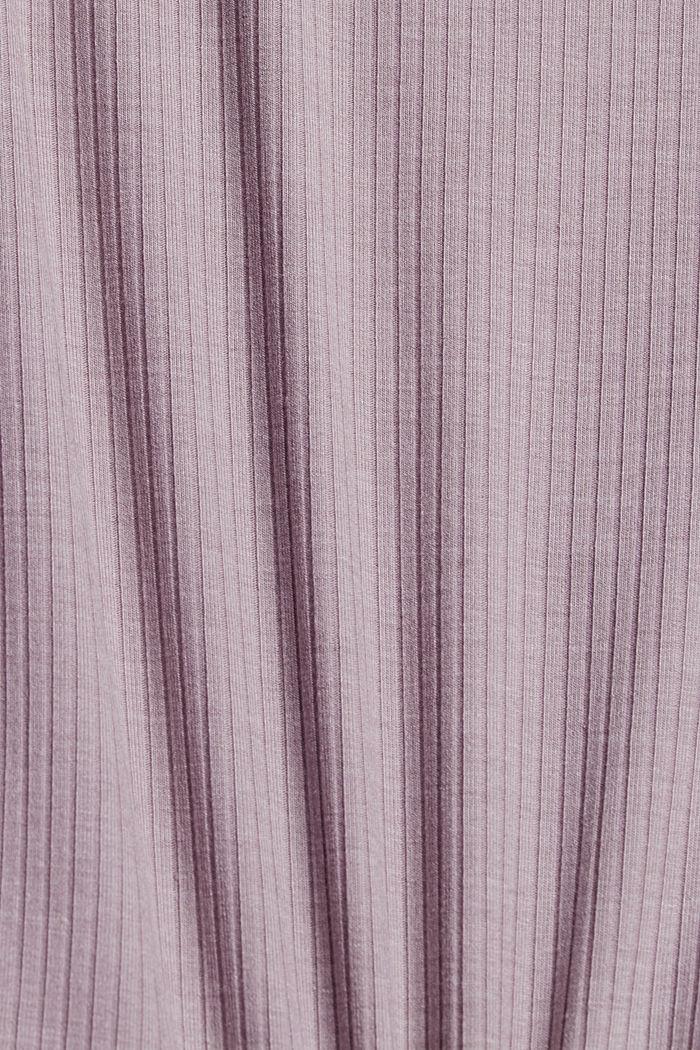 Jersey-yöpaita LENZING™ ECOVERO™ -materiaalia, LAVENDER, detail image number 4