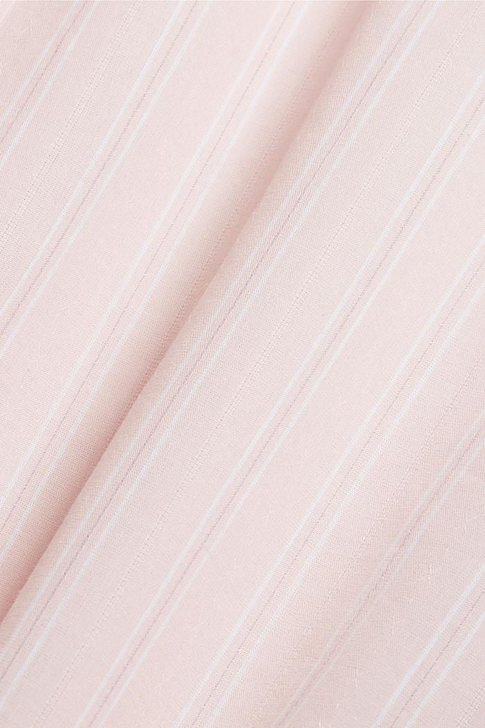 Nachthemd mit Streifen, 100% Organic Cotton, LIGHT PINK, detail image number 4