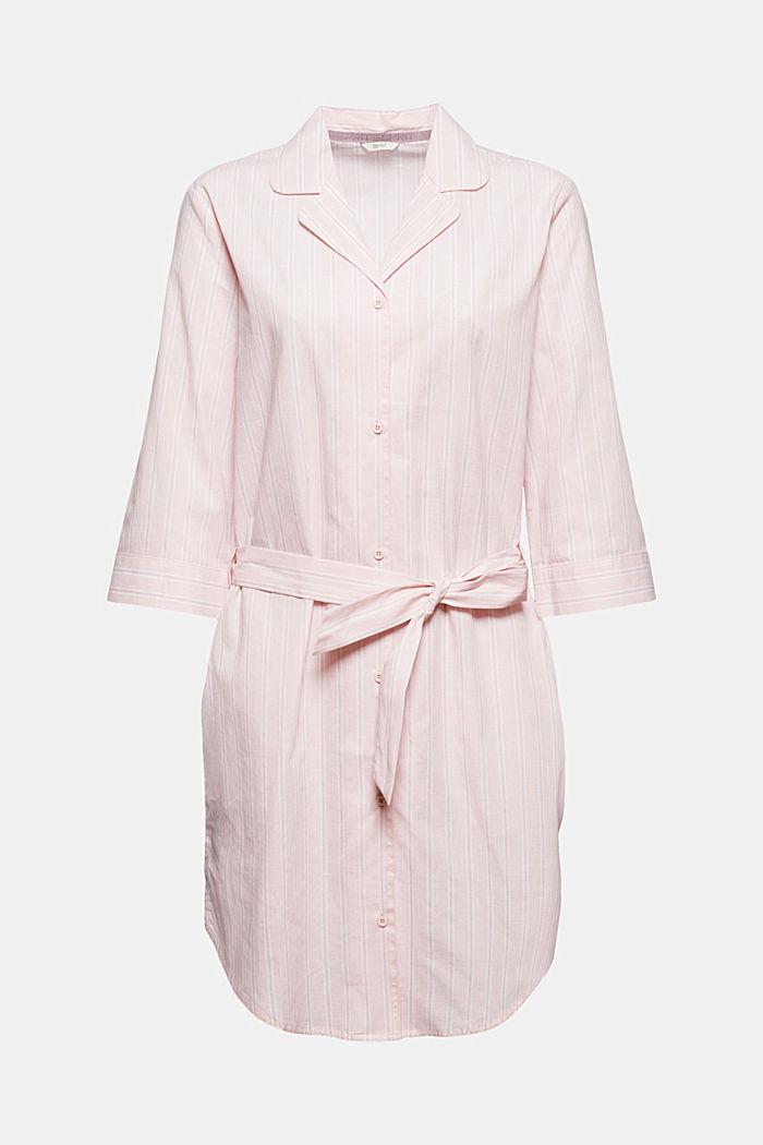 Nachthemd mit Streifen, 100% Organic Cotton