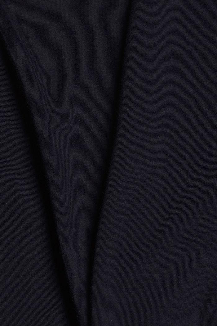 Jersey-Nachthemd aus 100% Bio-Baumwolle, NAVY, detail image number 4