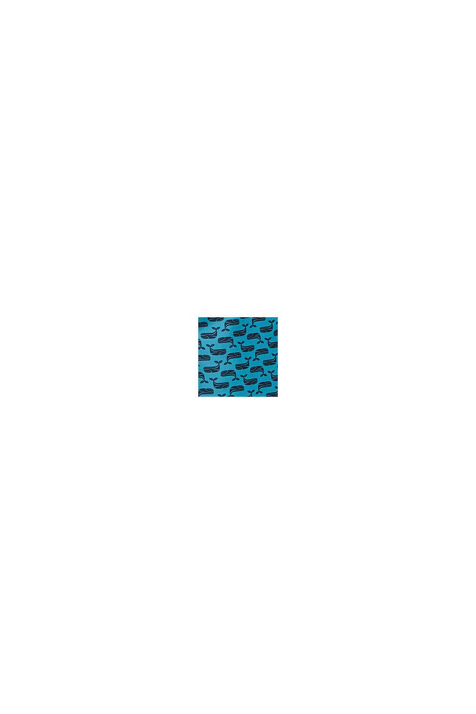 En matière recyclée: short de bain à imprimé, BLUE, swatch