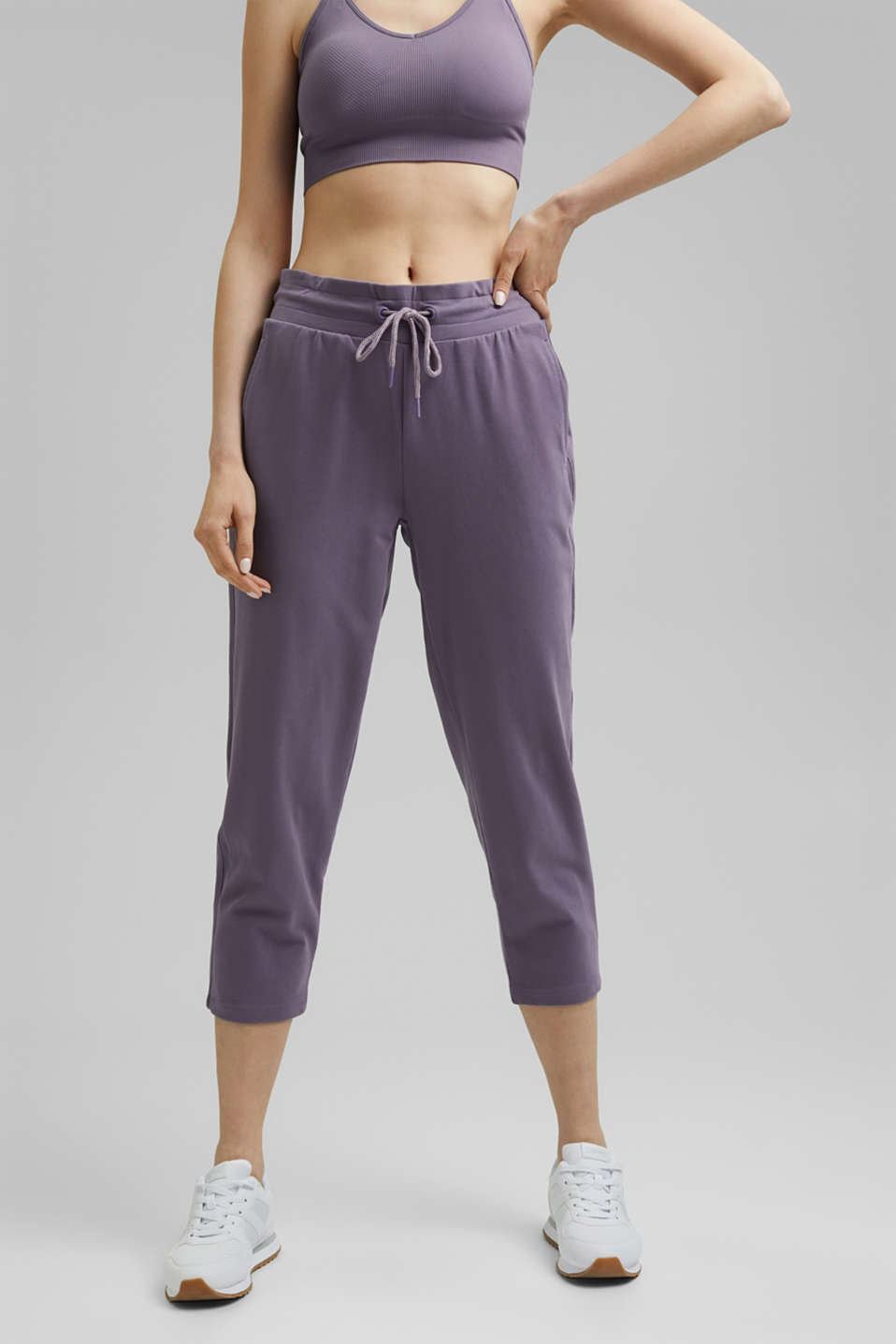 Esprit - Tracksuit bottoms with organic cotton