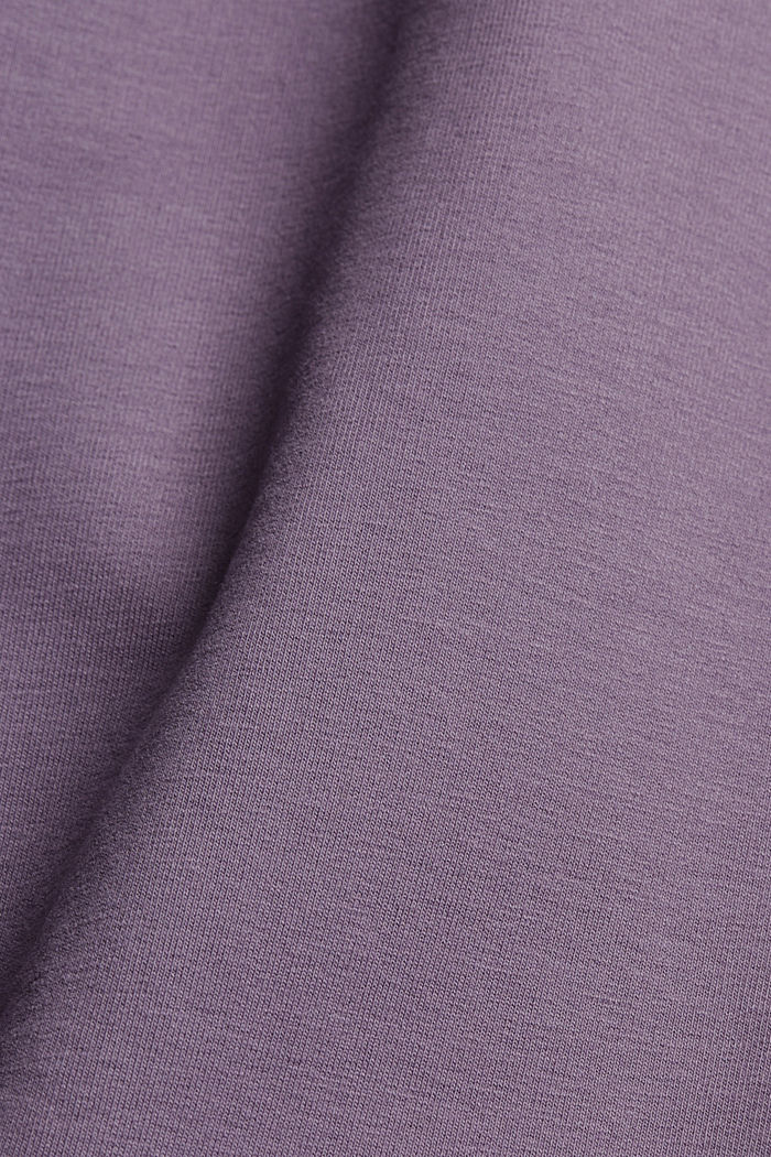 Capri-Sweathose mit Organic Cotton, MAUVE, detail image number 4