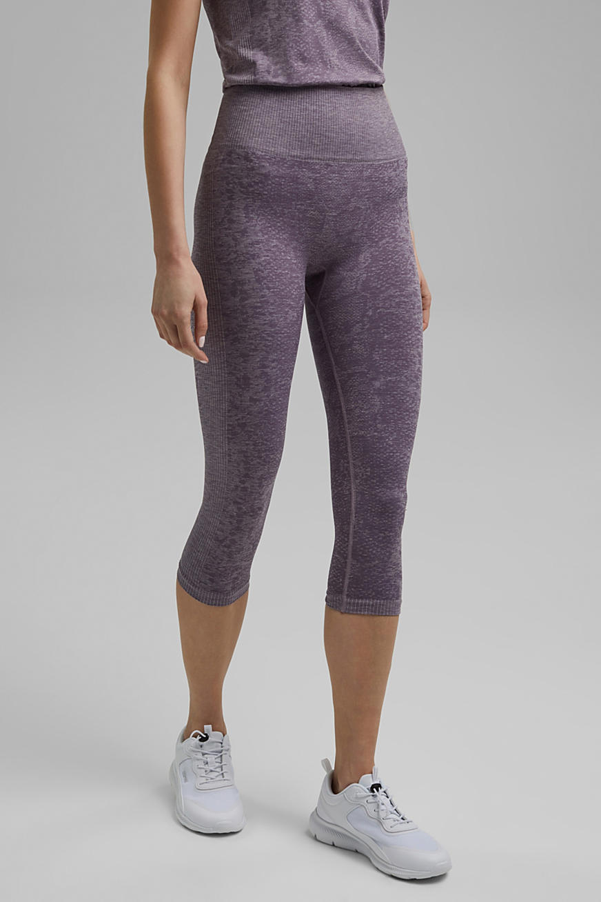 YOGA: seamless, high-performance leggings with an E-Dry finish