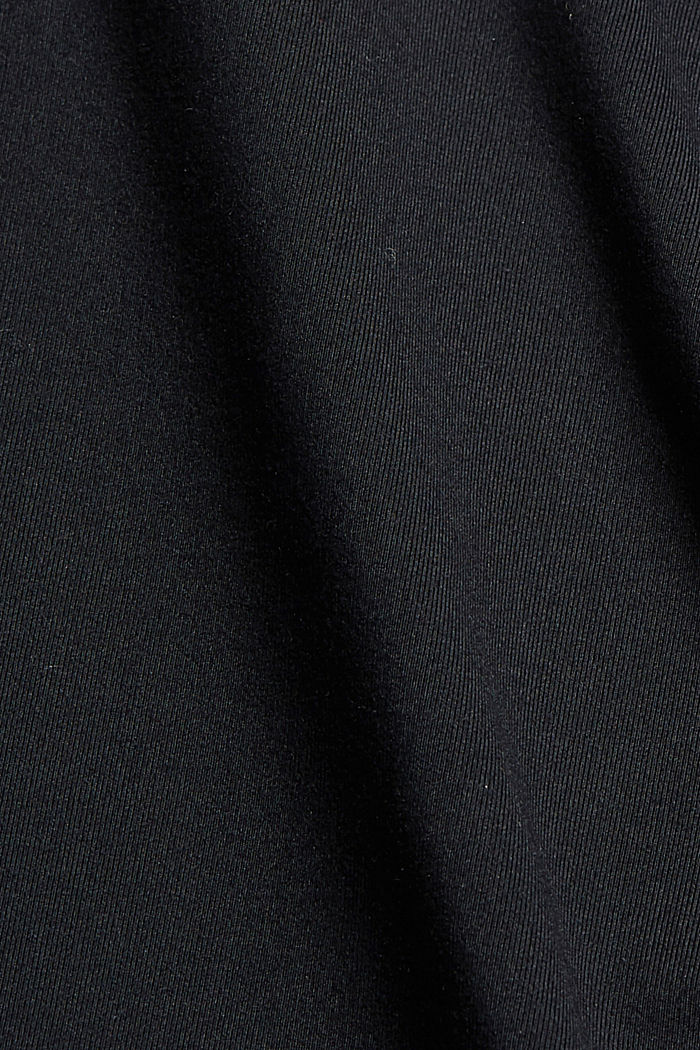 Recycled: Active shorts with E-DRY, BLACK, detail image number 4