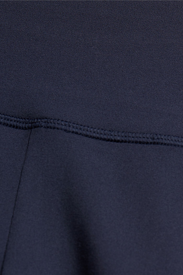 Recycled: Active shorts with E-DRY, NAVY, detail image number 4