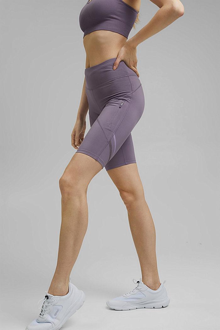 Recycelt: Active-Shorts mit E-Dry, MAUVE, detail image number 0
