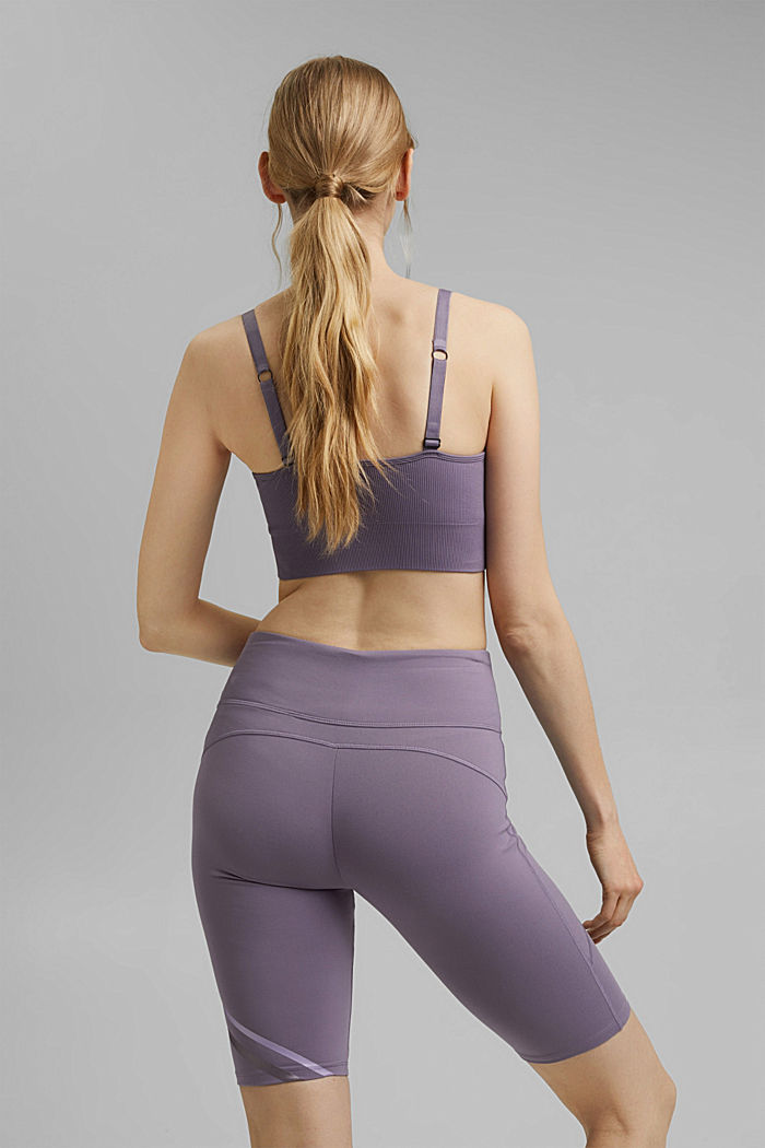 Recycelt: Active-Shorts mit E-Dry, MAUVE, detail image number 3