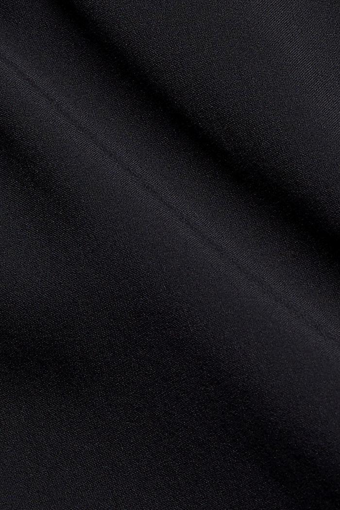 Recycelt: Shorts mit Kontrastblenden, BLACK, detail image number 4