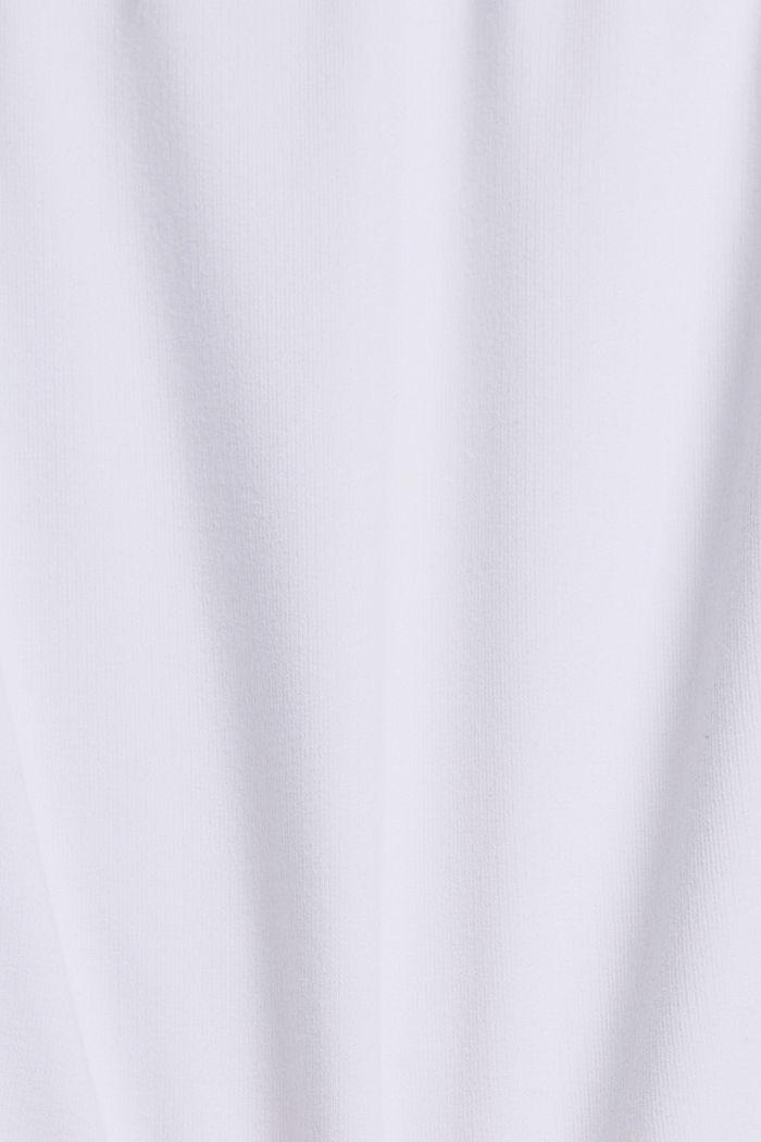 Sweat-Shorts mit Organic Cotton, WHITE, detail image number 4