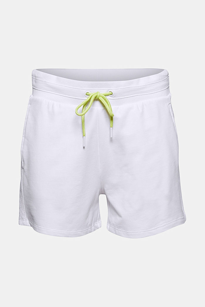 Sweatshirt fabric shorts with organic cotton