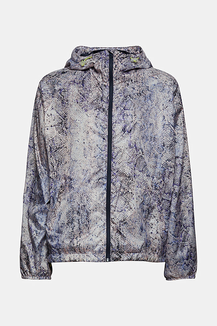 Active Outdoor-Jacke mit Print