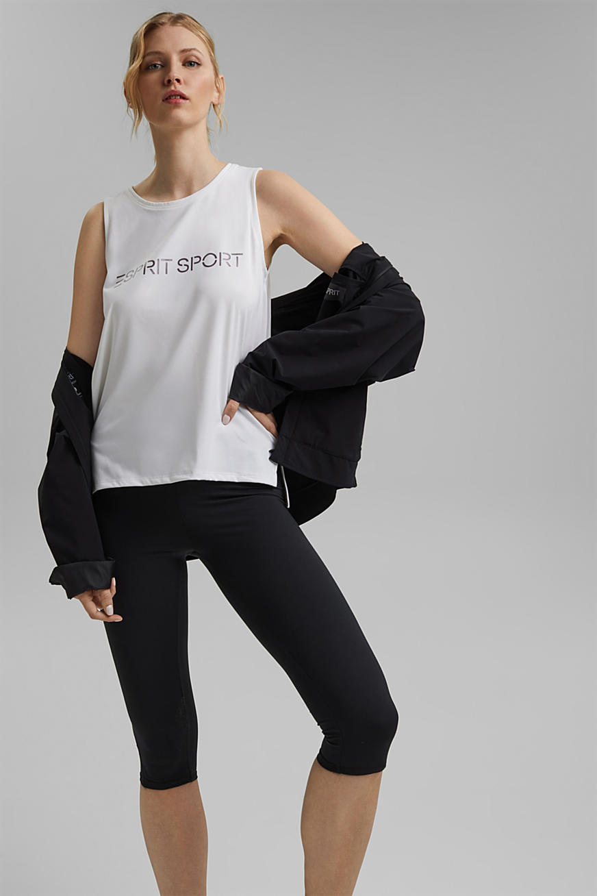 Gerecycled: Active top met E-DRY