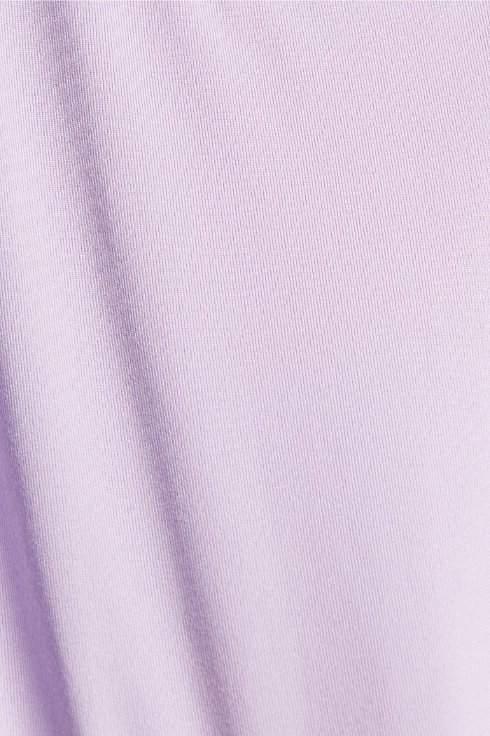 Gerecycled: Active top met E-DRY, LAVENDER, detail image number 4