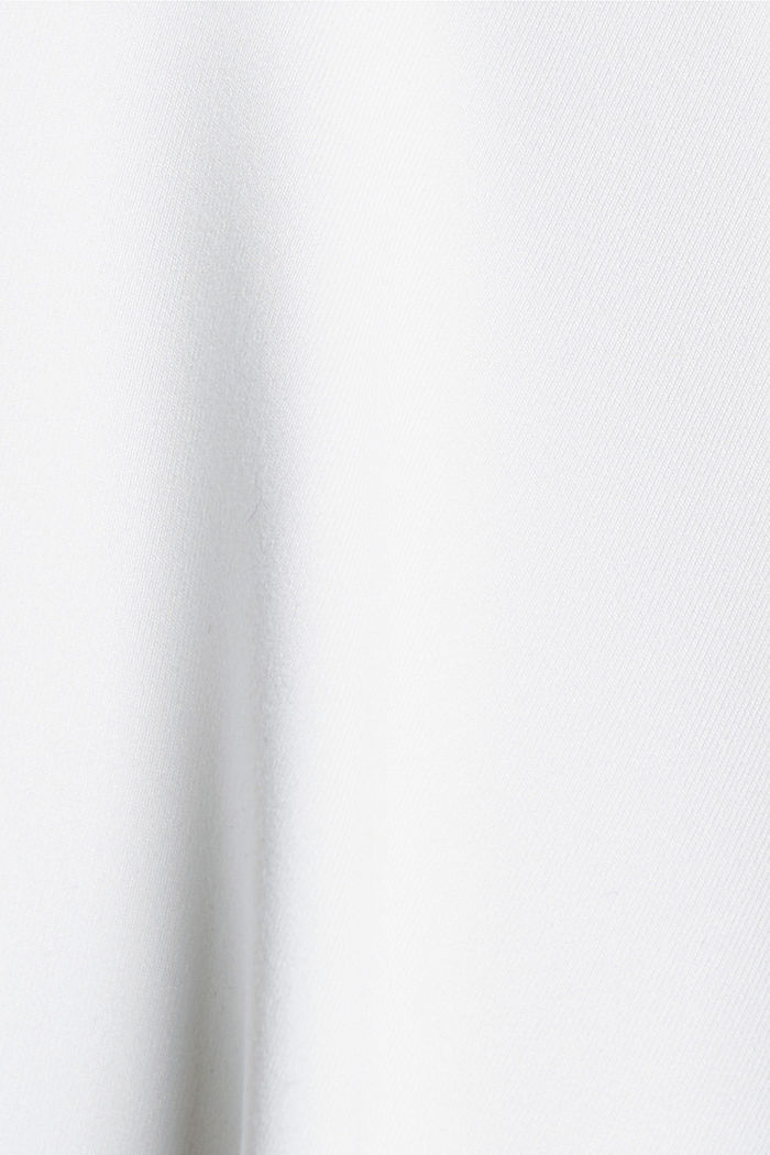 Recycelt: T-Shirt mit Mesh und E-DRY, WHITE, detail image number 4