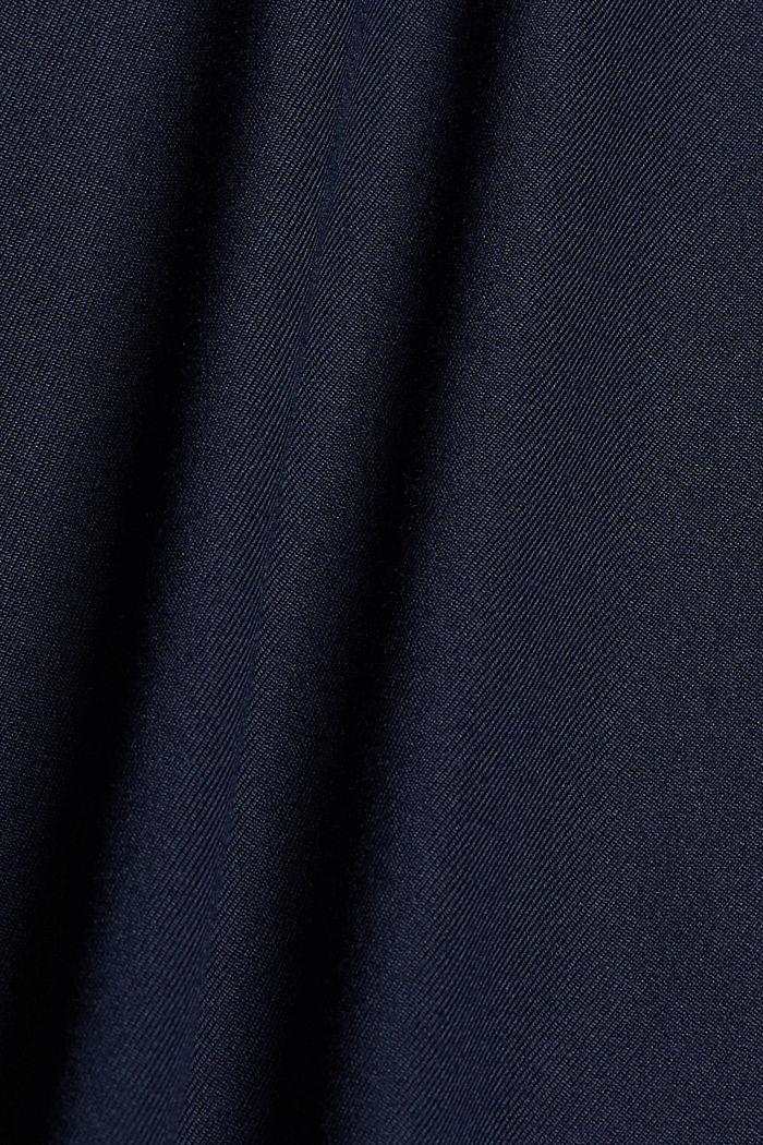 Recycelt: T-Shirt mit Mesh und E-DRY, NAVY, detail image number 4