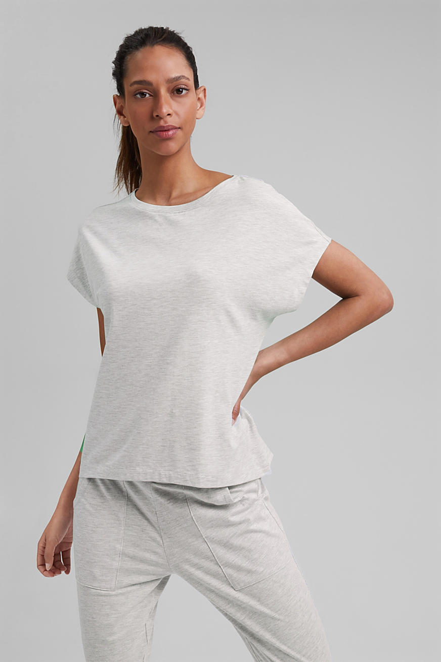 YOGA: T-shirt with organic cotton