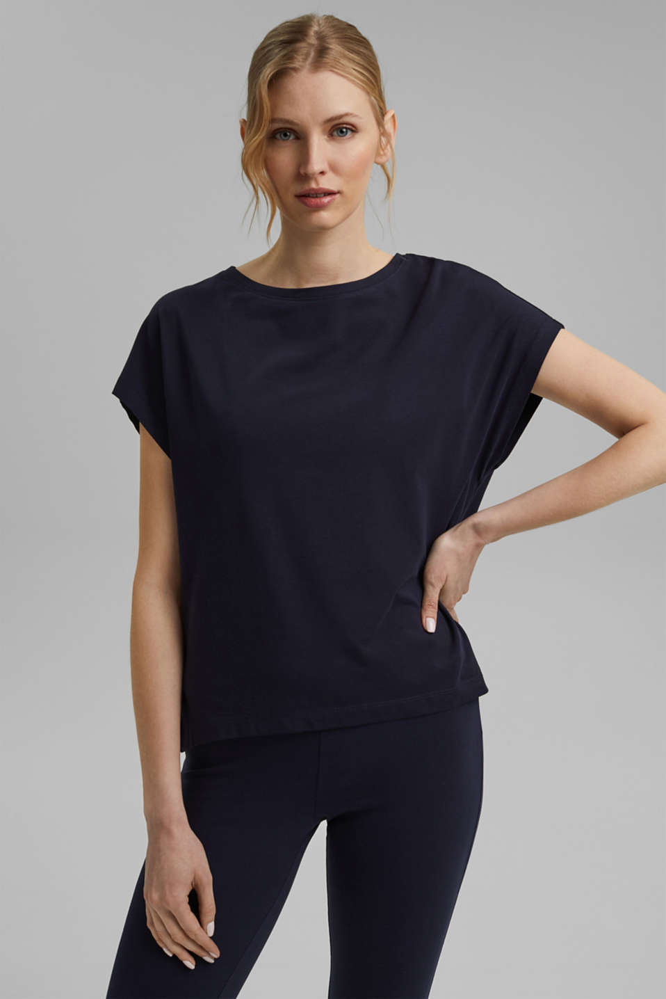 Esprit - T-shirt with organic cotton