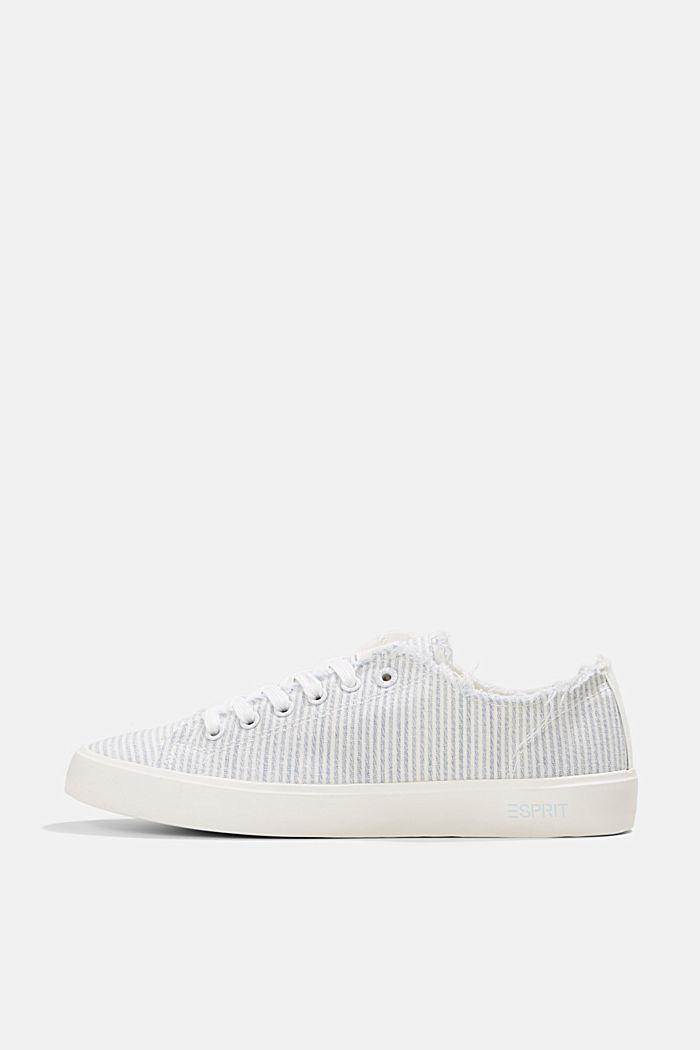 Canvas-Sneaker aus Organic Cotton, LIGHT BLUE, detail image number 0