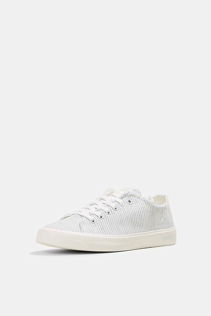 Canvas-Sneaker aus Organic Cotton, LIGHT BLUE, detail image number 2