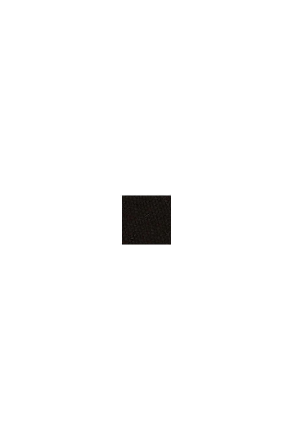 Espadriller med rem i bomull, BLACK, swatch