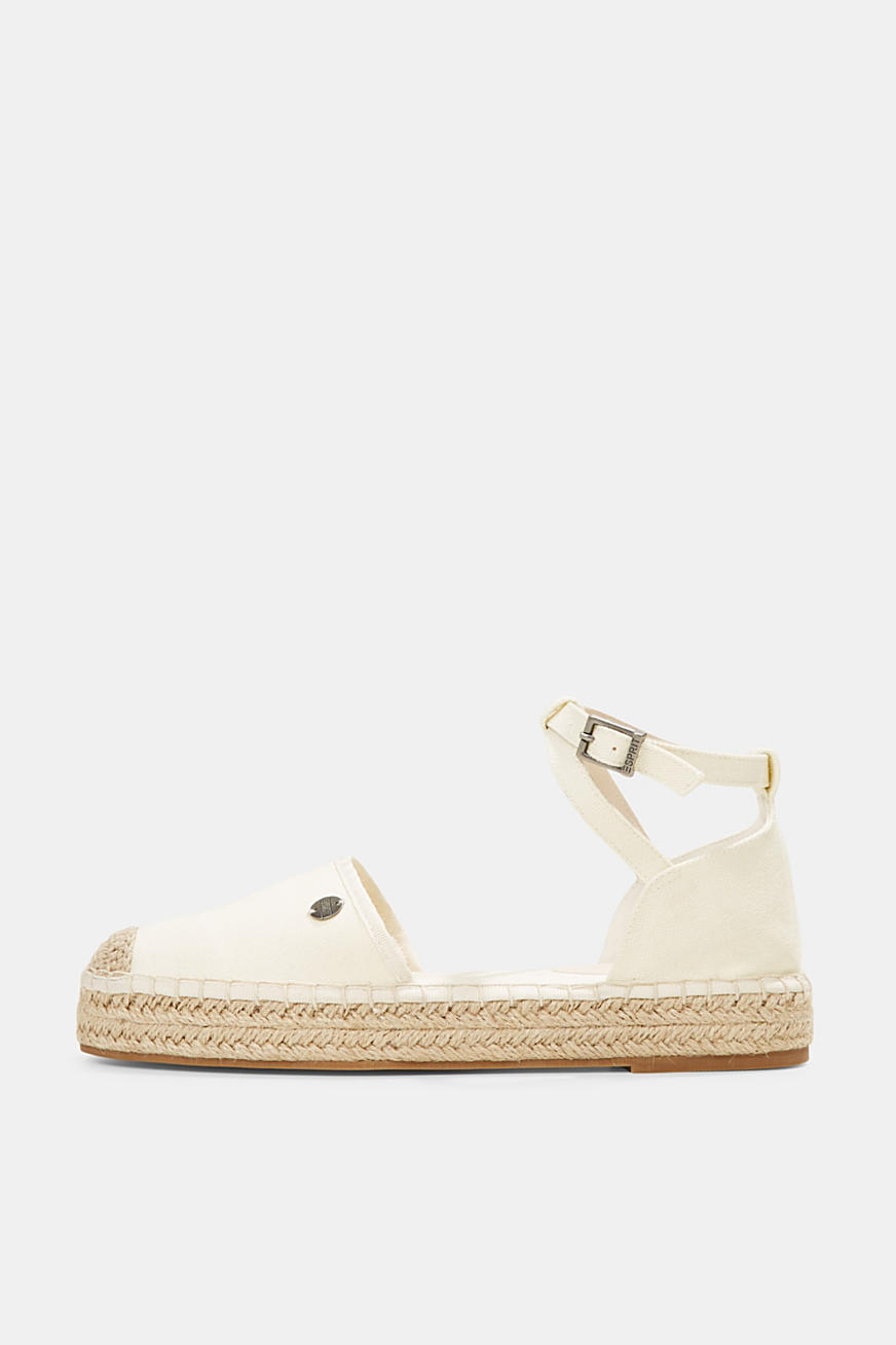 Espadrilles with cotton straps