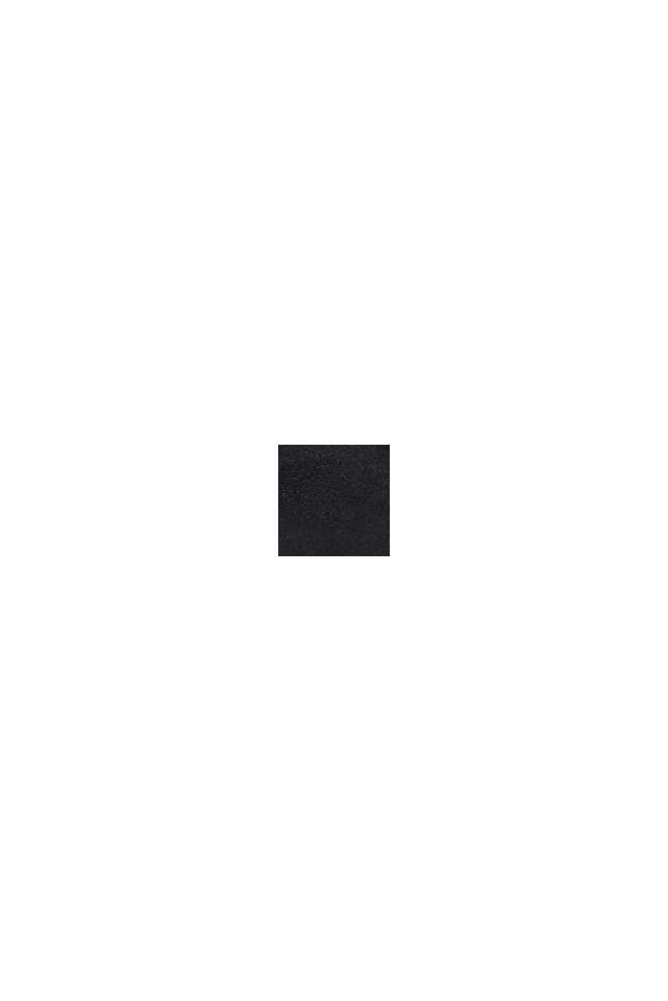 Japonki z paskiem z materiału, BLACK, swatch